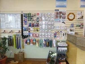 Shoe store accessories